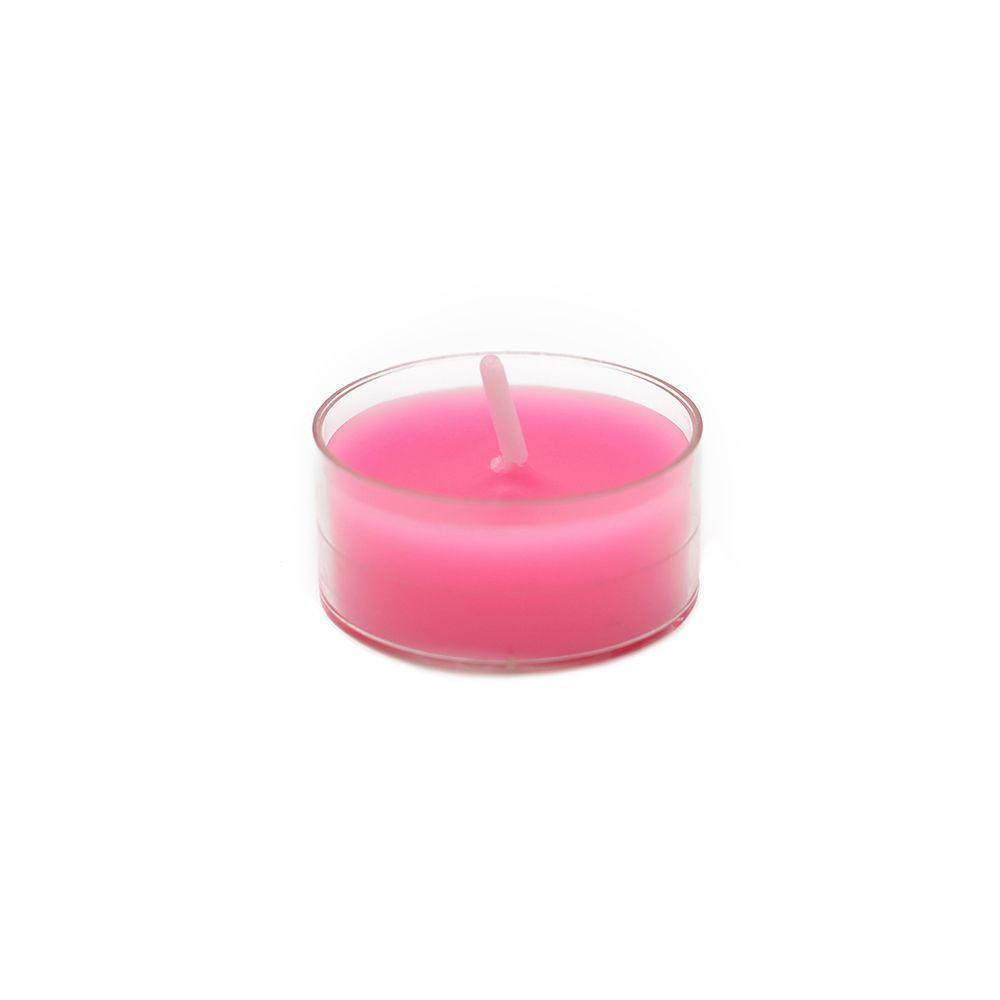 1.5 in. Hot Pink Tealight Candles (50-Pack)