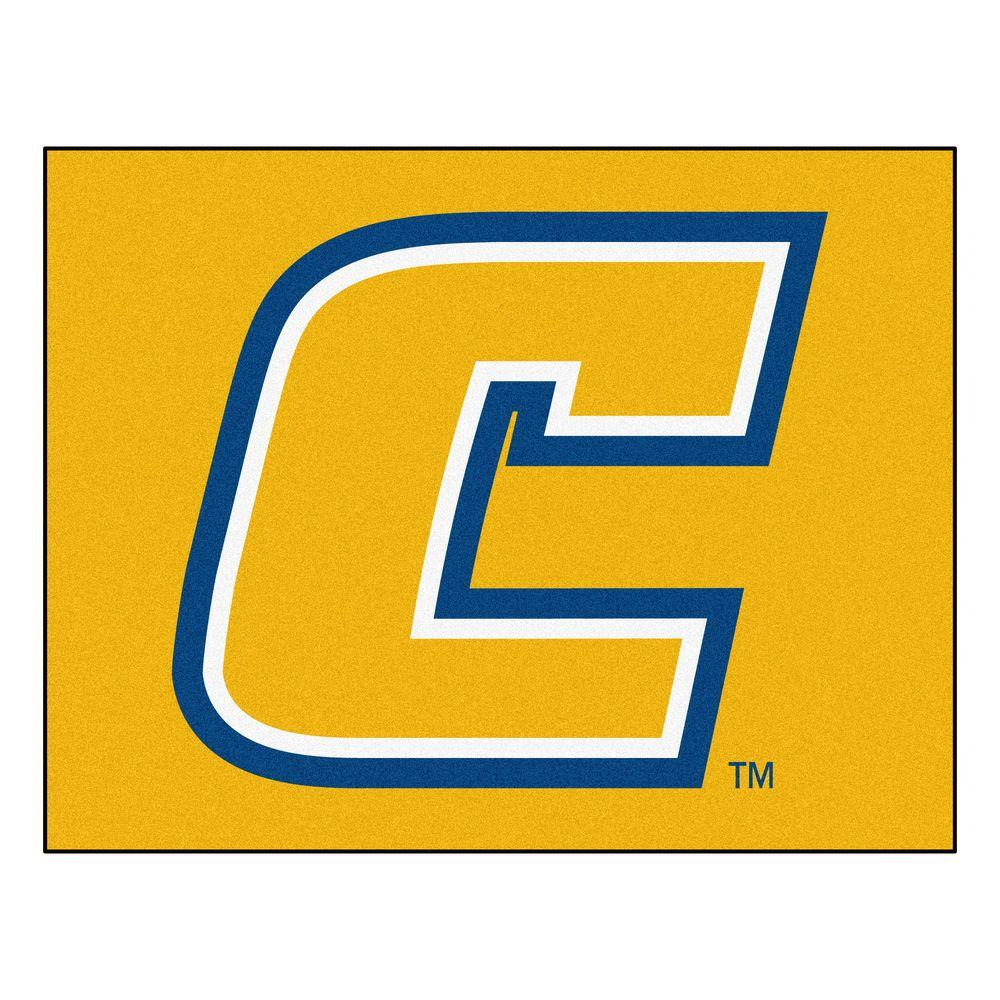 NCAA University Tennessee Chattanooga Yellow 2 ft. 10 in. x 3