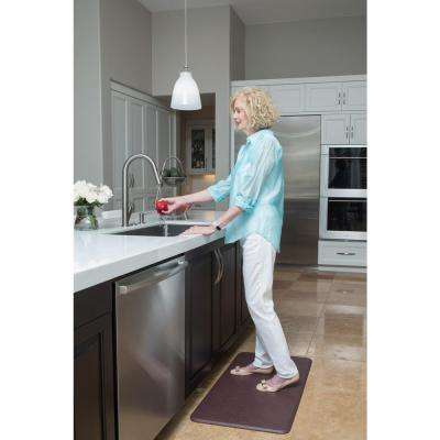 Nantucket Cinnamon 20 in. x 36 in. Anti Fatigue Comfort Mat
