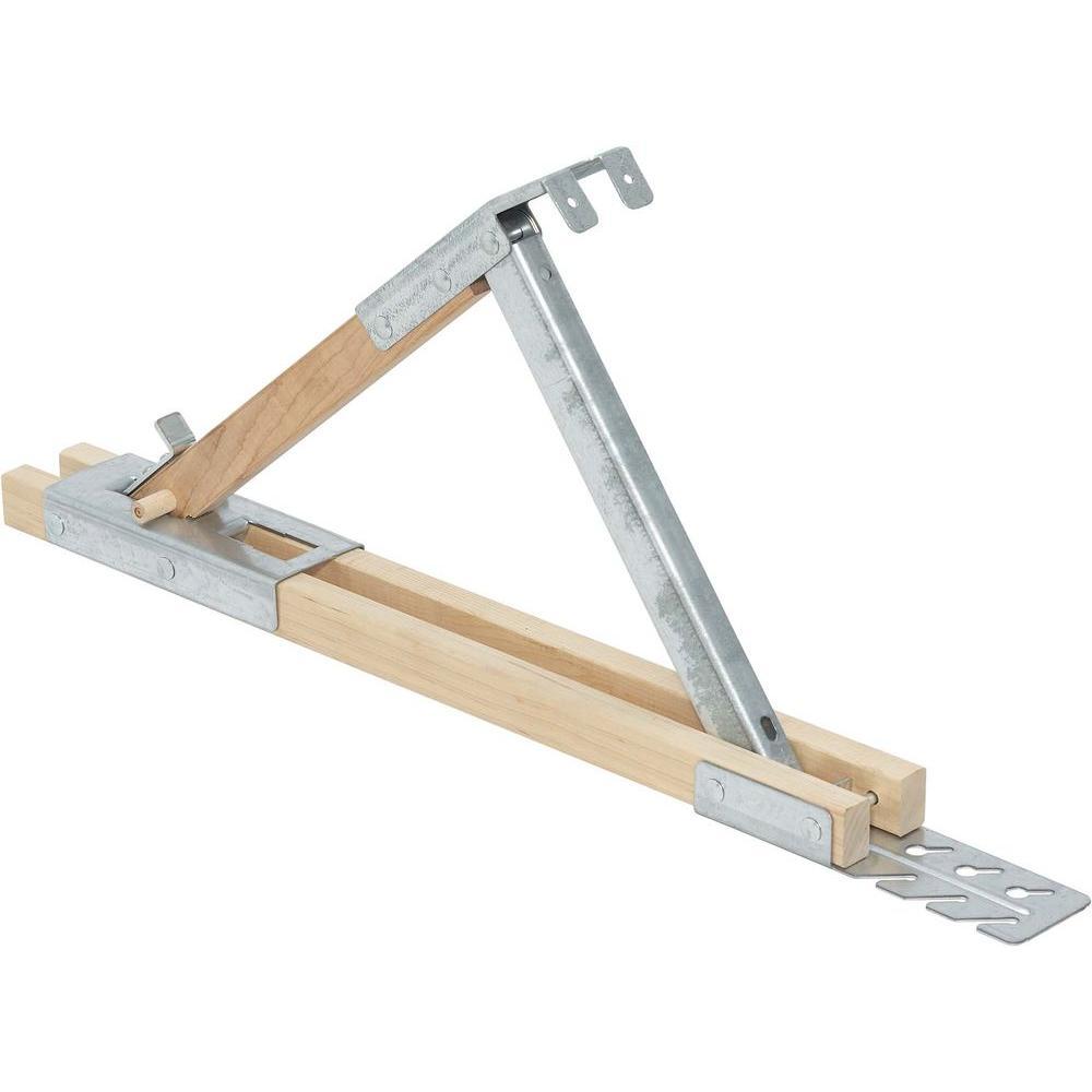 Qualcraft 12 in. Wood Stel Roof Bracket