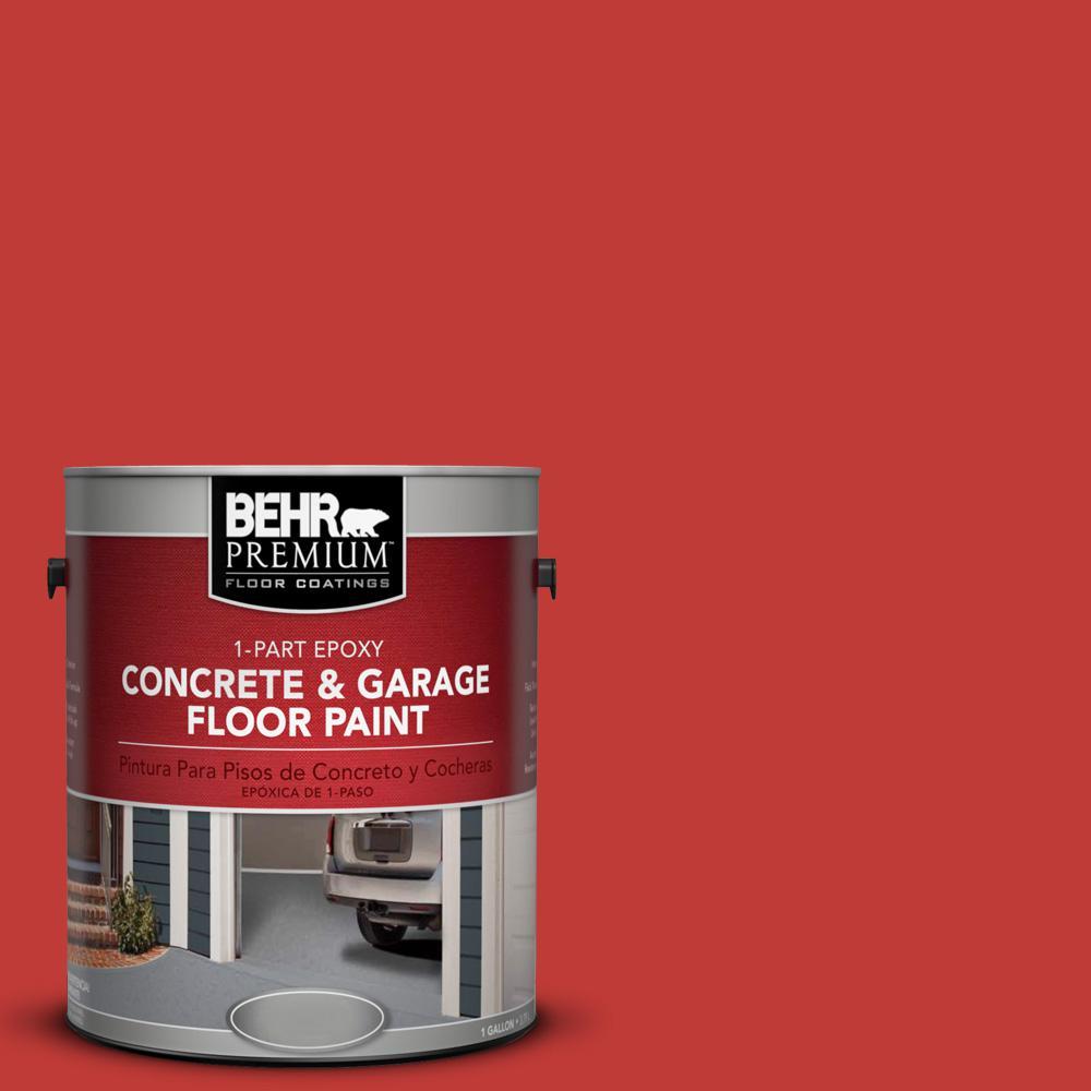 1 gal. #P150-7 Flirt Alert 1-Part Epoxy Concrete and Garage Floor Paint