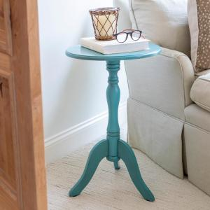 huge discount 461fe 59095 Decor Therapy Simplify Antique Turquoise Blue Pedestal ...