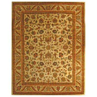 Antiquity Gold 8 ft. x 11 ft. Area Rug