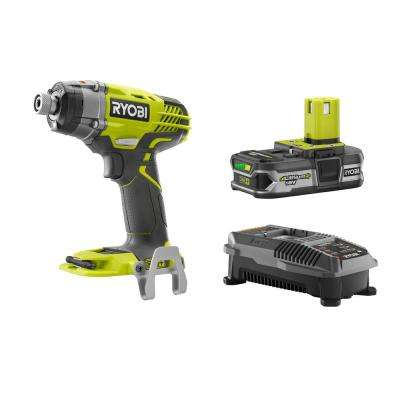 18-Volt ONE+ 3-Speed 1/4 in. Impact Driver Kit