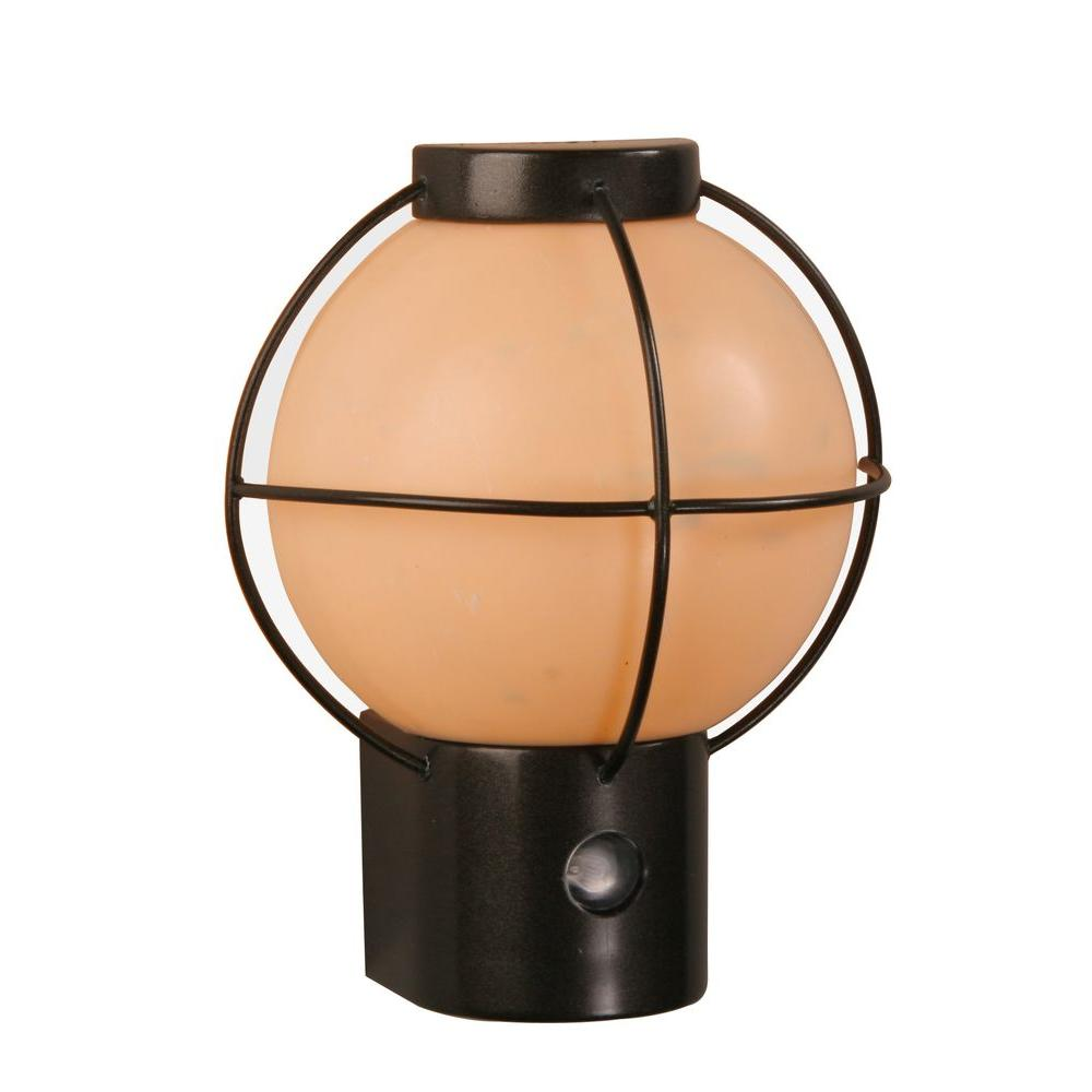 Amerelle Automatic Bronze Finish Night Light-DISCONTINUED