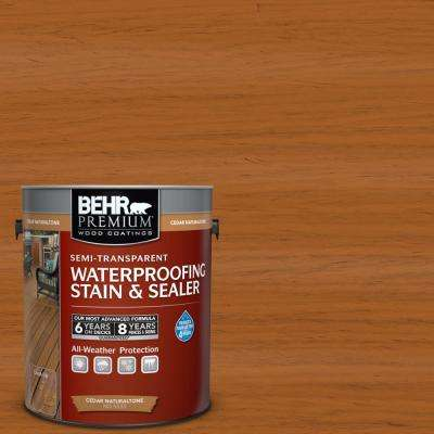 1 gal. Cedar Naturaltone Semi-Transparent Waterproofing Stain & Sealer