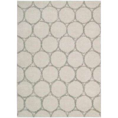 Monterey Silver 3 ft. 6 in. x 5 ft. 6 in. Area Rug
