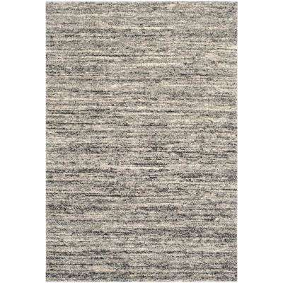 Gray Striped 9 X 12 Area Rugs Rugs The Home Depot