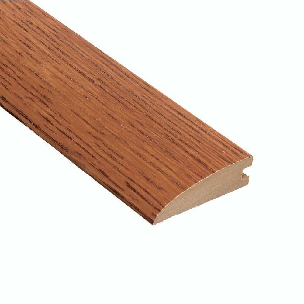 Home Legend Oak Gunstock 3/8 in. Thick x 2 in. Wide x 47 in. Length Hardwood Hard Surface Reducer Molding