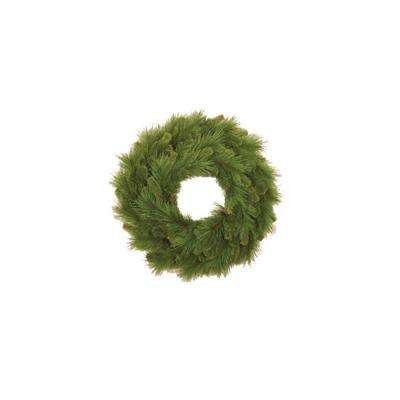 24 in. Mixed Pine Artificial Wreath (Pack of 4)