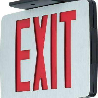 120-Volt Die-Cast Aluminum Integrated LED Exit Sign