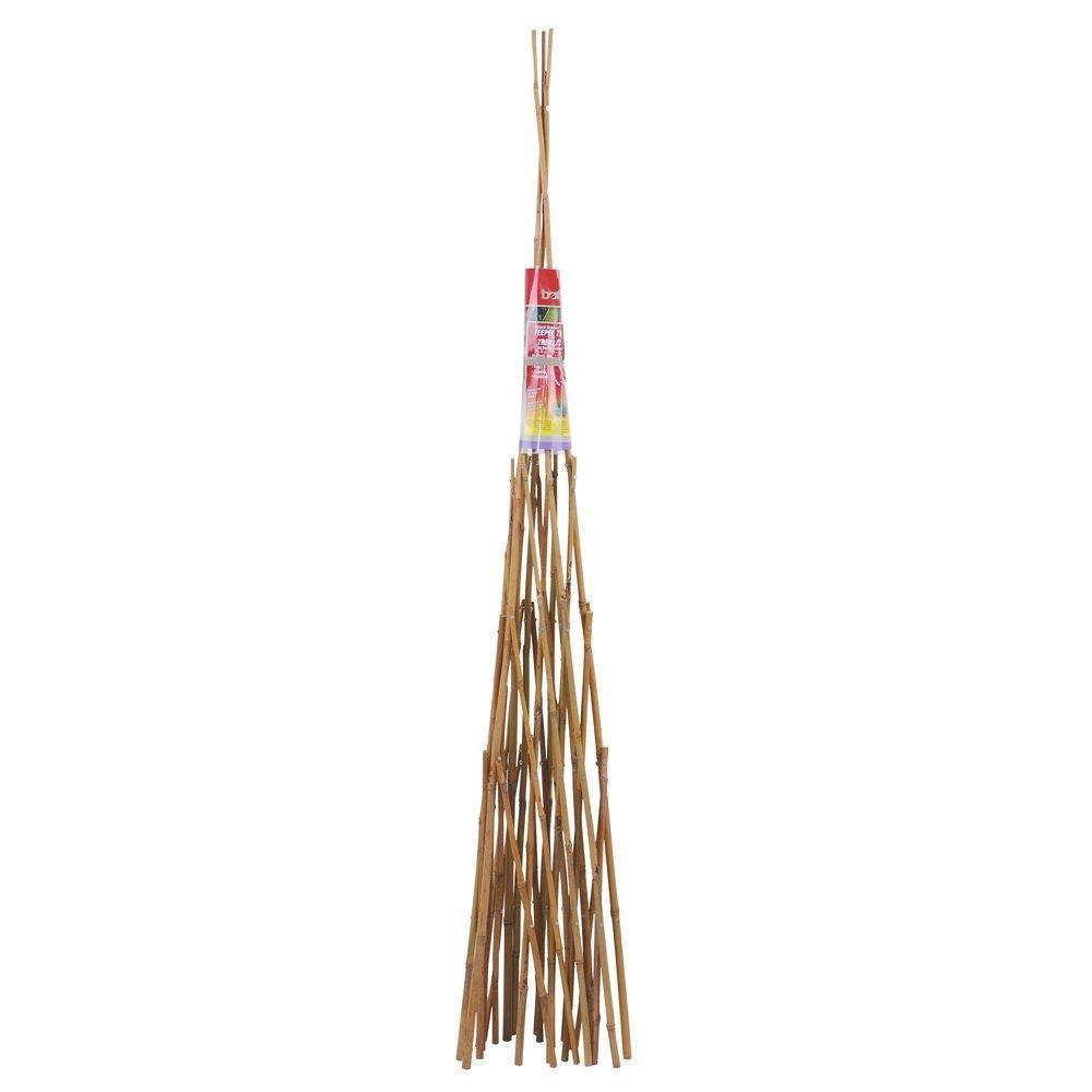 72 in. Bamboo Teepee Trellis