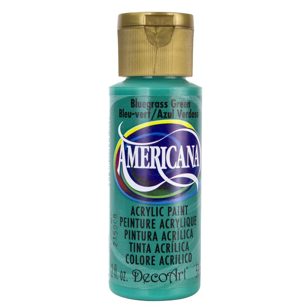 Americana 2 oz. Bluegrass Green Acrylic Paint