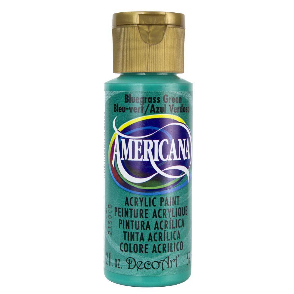 Americana 2 oz. Bluegrass Green Acrylic Paint