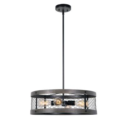 Cozy 4-Light Oil Rubbed Bronze Pendant