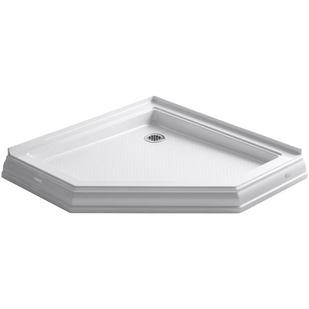 Kohler Memoirs 42 In X 42 In Shower Base In White K 9542