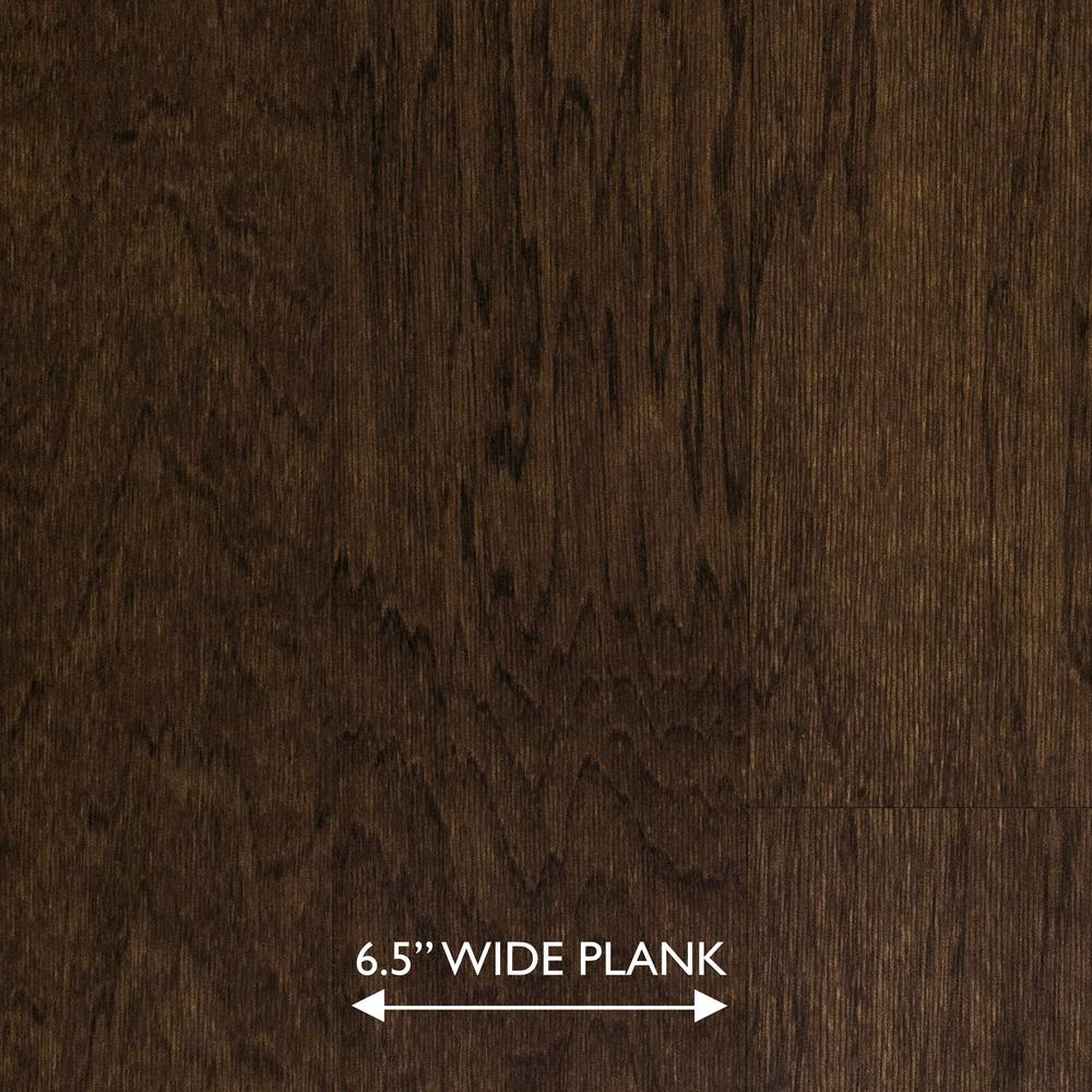 Heritage Mill Scraped Hickory Ember 3/8 in. Thick x 6-1/2 in. Wide x Random Length Engineered Hardwood Flooring (33.3 sq. ft. / case)