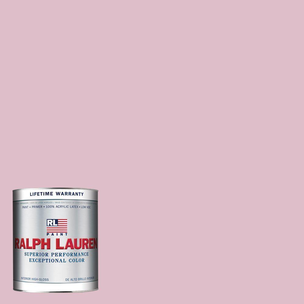 Ralph Lauren 1-qt. Pinafore Pink Hi-Gloss Interior Paint