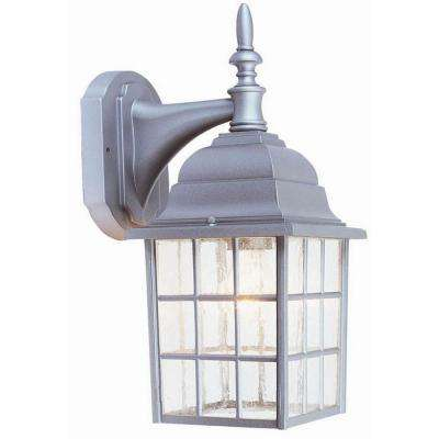 Earl Grey Sanded Aluminum Outdoor Wall Lantern Sconce