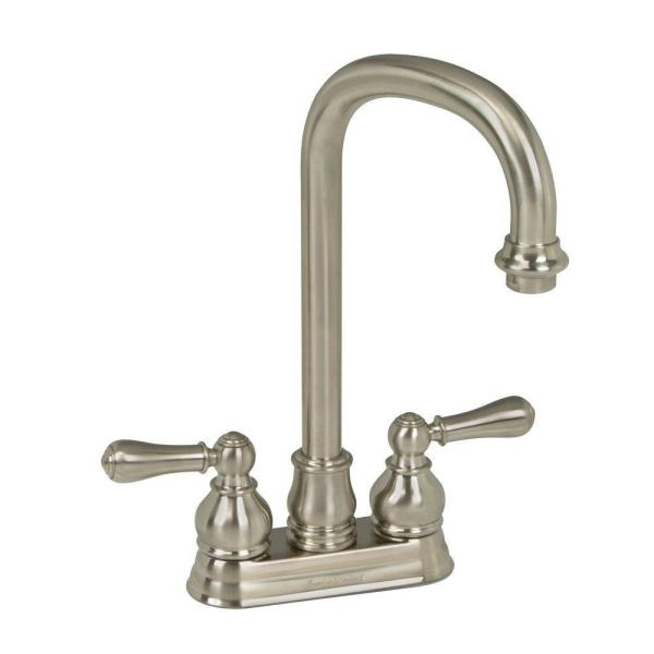 American Standard 2770.732.002 Hampton Bar Faucet with Swivel Spout and Metal Lever Handles, Available in Various Colors