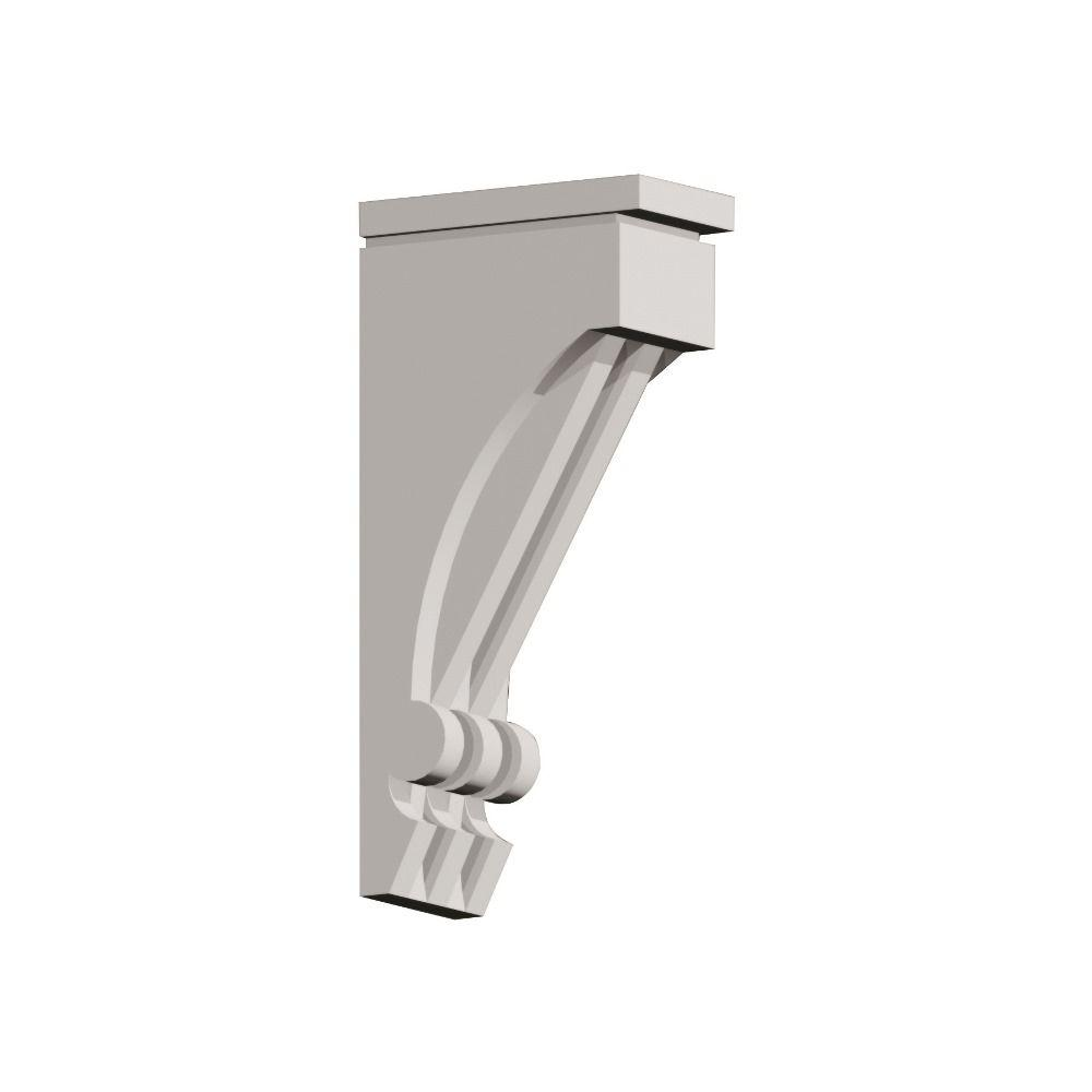 Fypon 14 1 4 in x 30 in x 7 1 2 in polyurethane bracket for Fypon beams