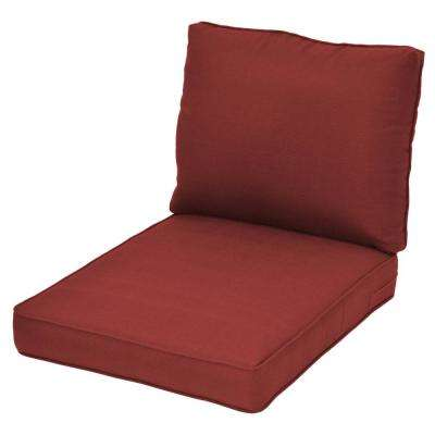 Spring Haven Chili Replacement Outdoor Sectional Cushion