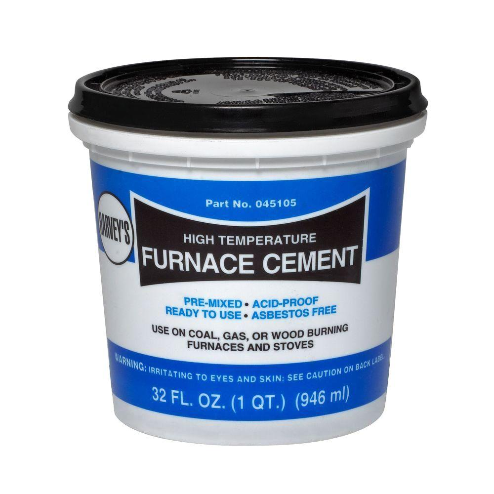 1 Qt Furnace Cement 045105 The Home Depot