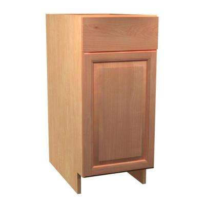 Ancona Ready to Assemble 18 x 34.5 x 24 in. Base Cabinet with 1 Soft Close Door and 1 Soft Close Drawer in Cumin