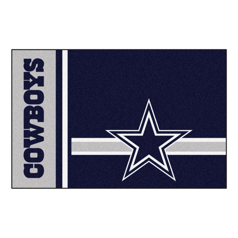 Fanmats nfl dallas cowboys blue uniform inspired 1 ft 7 for Blue print store dallas