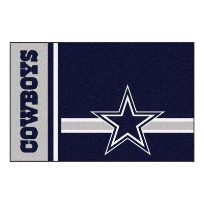 NFL - Dallas Cowboys Blue Uniform Inspired 2 ft. x 3 ft. Indoor/Outdoor Area Rug