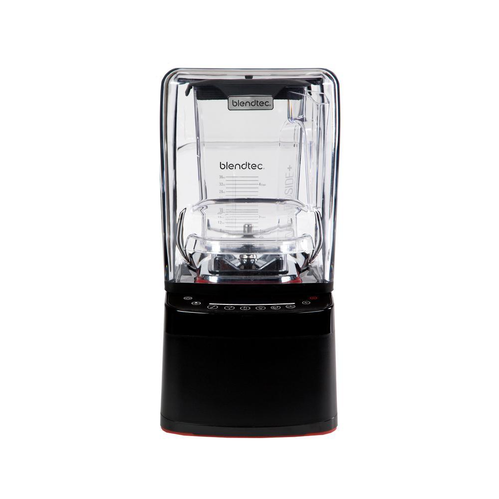 Professional 800 Blender with WildSide+ Jar (90 oz.) Sealed Sound Enclosure, 11-Speed Touch Slider, Self-Cleaning, Black