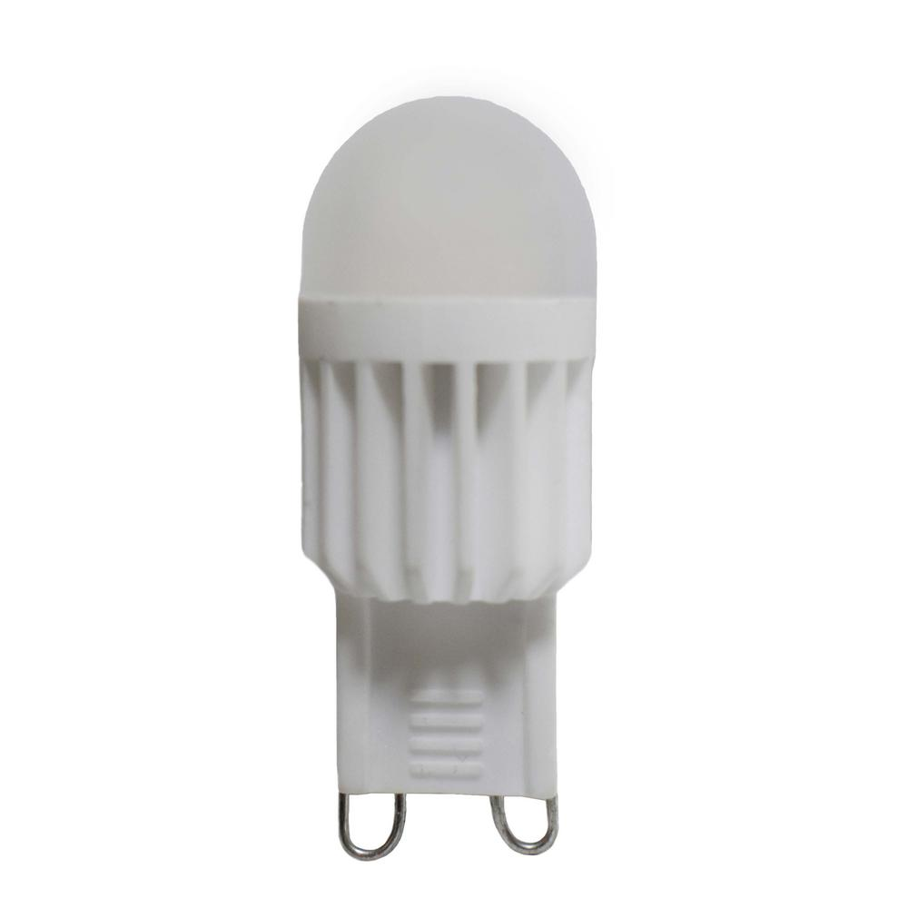 Maxim Lighting 40-Watt Equivalent G9 Soft White LED Light Bulb
