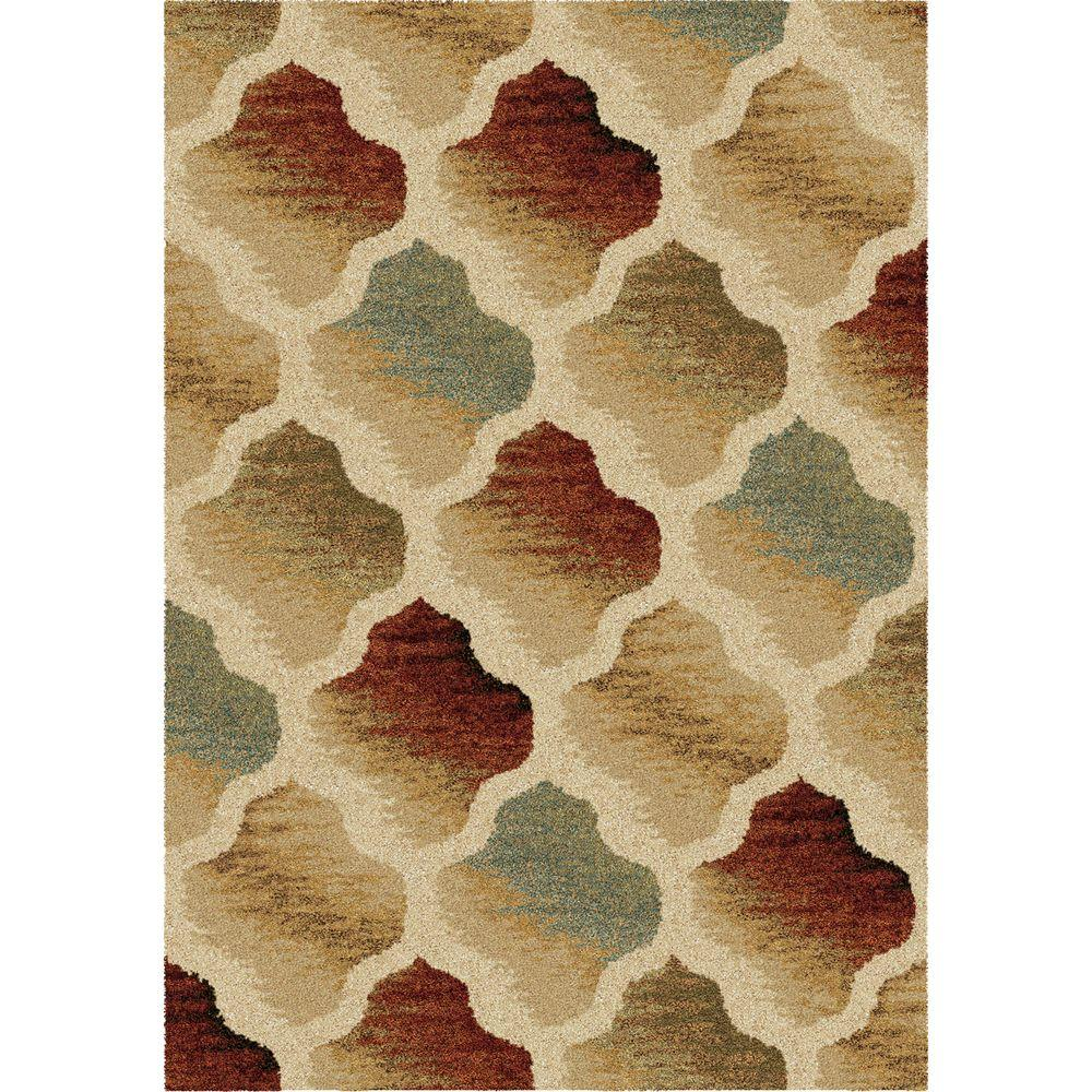 Orian Rugs Color Hive Multi 7 ft. 10 in. x 10 ft. 10 in. Indoor Area Rug