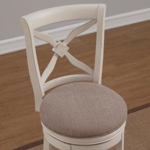Admirable American Woodcrafters Accera 30 In Antique White Swivel Bar Pdpeps Interior Chair Design Pdpepsorg