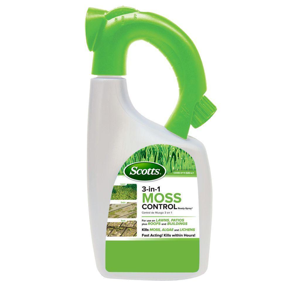 3-in-1 Moss Control 32 oz. Ready-To-Spray