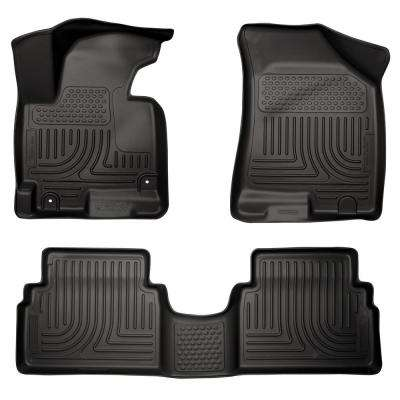 Front & 2nd Seat Floor Liners Fits 14-15 Tucson GLS/Limited/SE