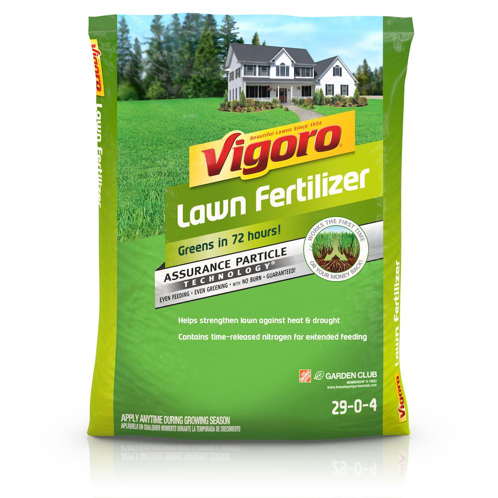 Vigoro 5,000 sq  ft  Lawn Fertilizer