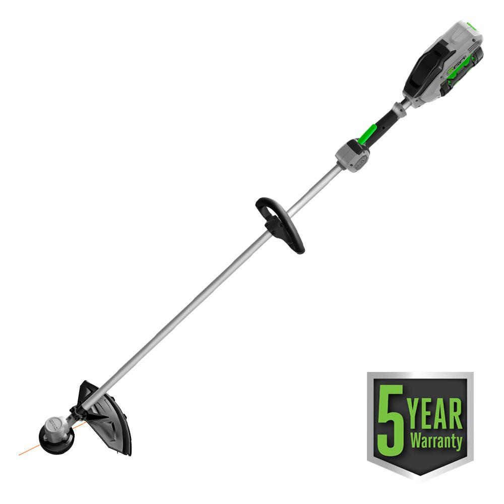 EGO POWER+ 15 in. 56-Volt Lithium ion Cordless String Trimmer Kit w/Rapid Reload Head (2.5Ah Battery, 210-Watt Charger)