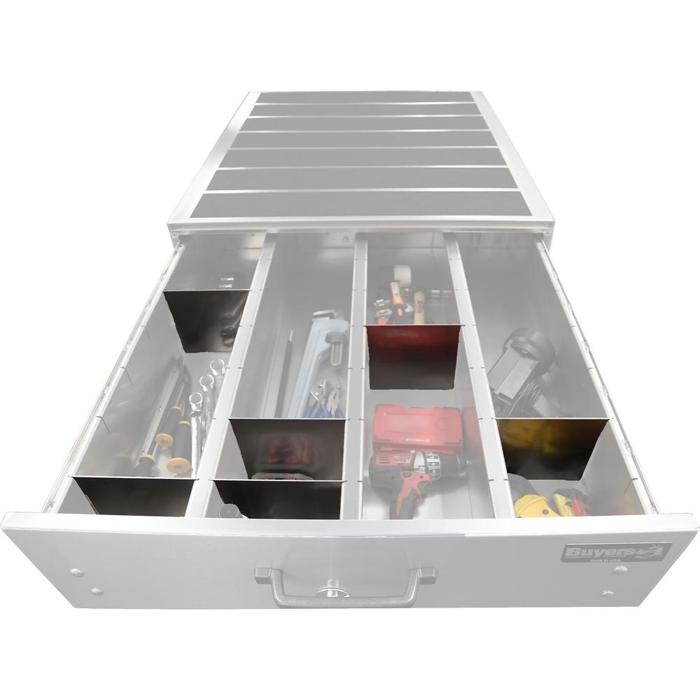 Buyers Products Company 16-Piece Divider Kit for Buyers Products Slide Out Truck Bed Box