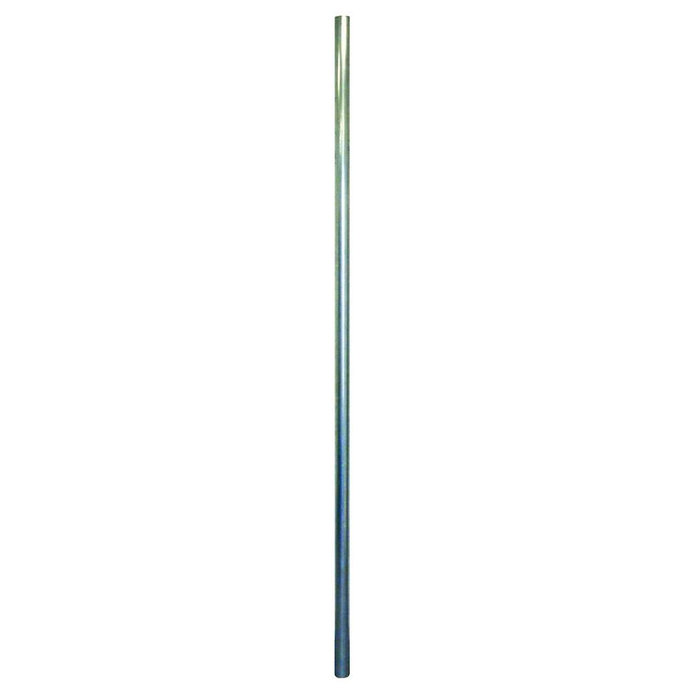 YARDGARD 1-5/8 in. x 7 ft. 16-Gauge Galvanized Steel Line Post