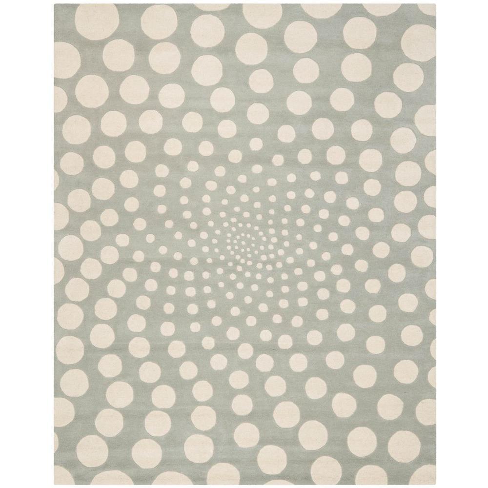 Soho Grey/Ivory 5 ft. x 8 ft. Area Rug