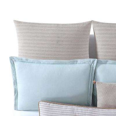 Chambray Coast Neutral Euro Sham