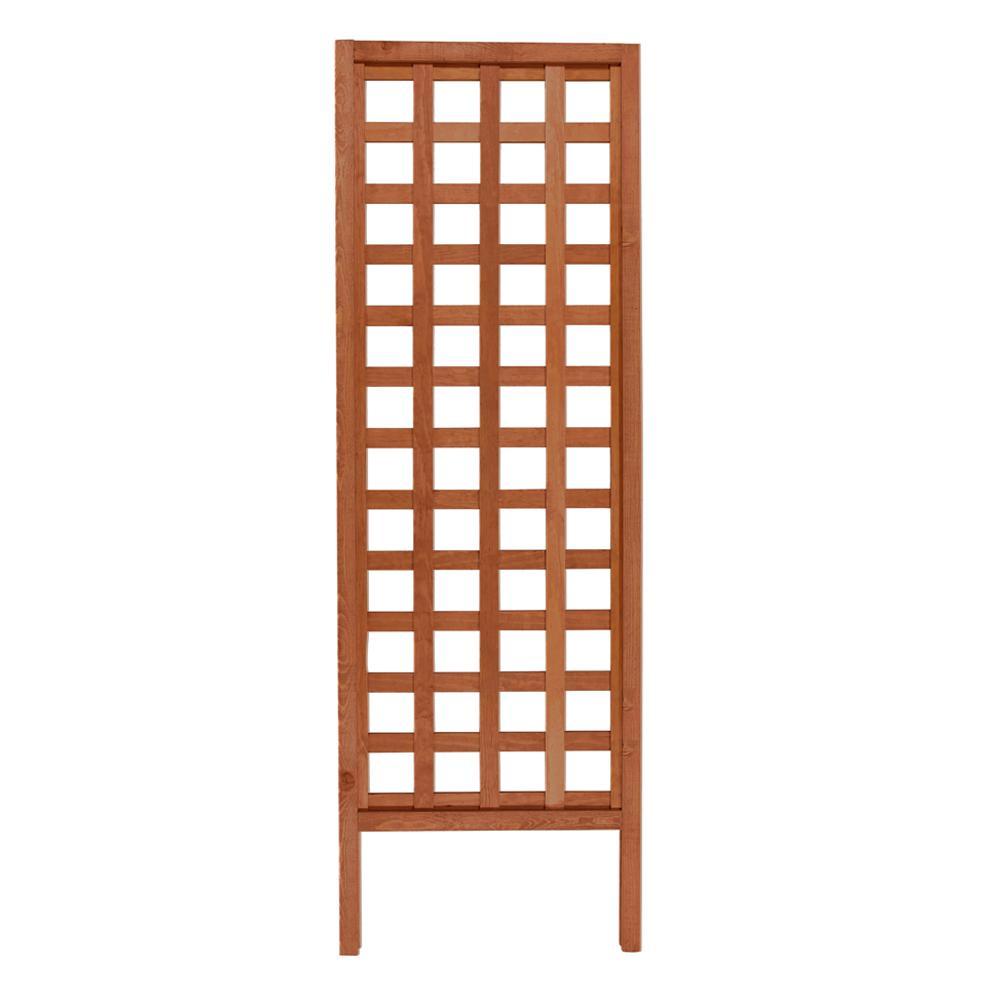 Outdoor Essentials 72 in. Wood Square Lattice Trellis-309168 - The ...