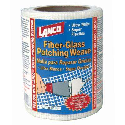4 in. x 50 ft. Fiberglass Patching Weave Roll Flashing