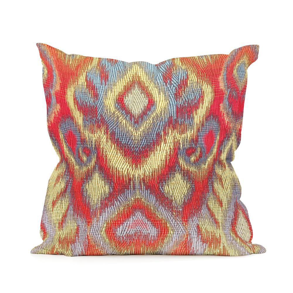 Opal Multi-Color Fire 16 in. x 16 in. Decorative Pillows