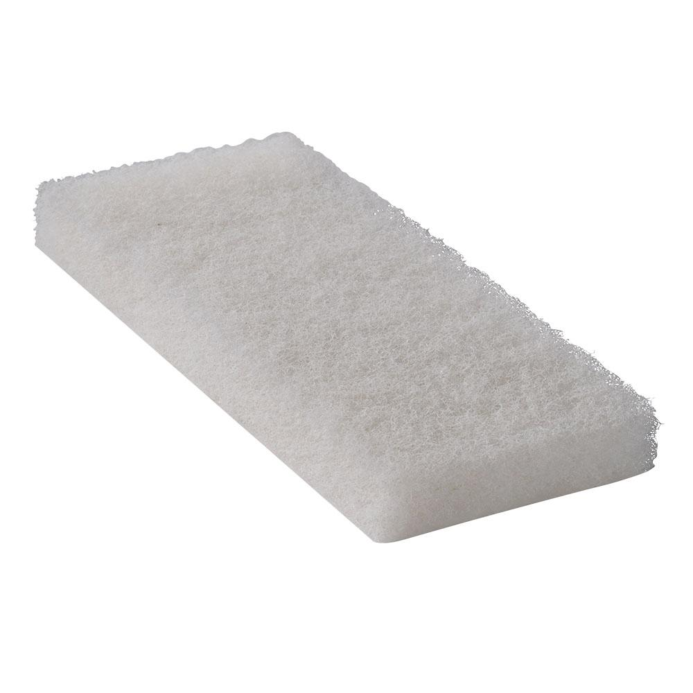 4-1/2 in. x 10 in. White Light Duty Utility Cleaning Pad