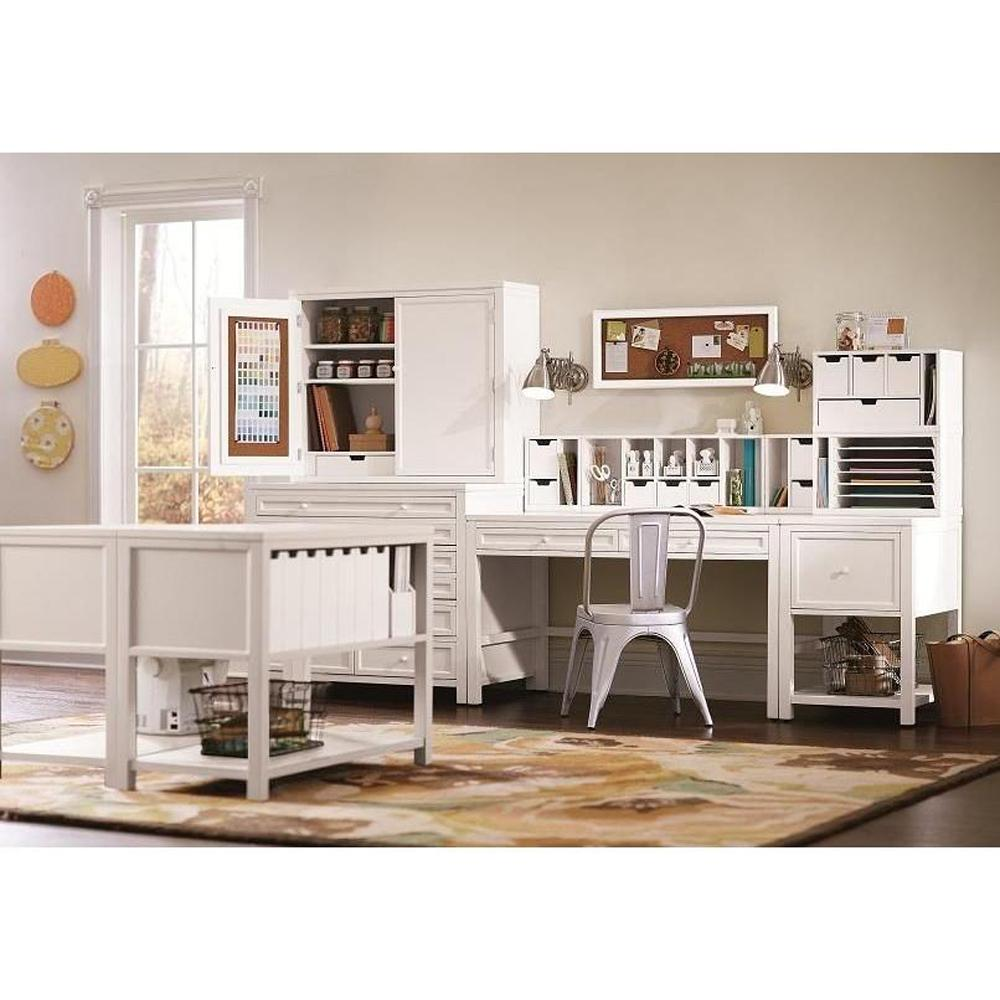 Home Decorators Collection Craft Space 1 Drawer Standard File Cabinet In Picket Fence 0464500400
