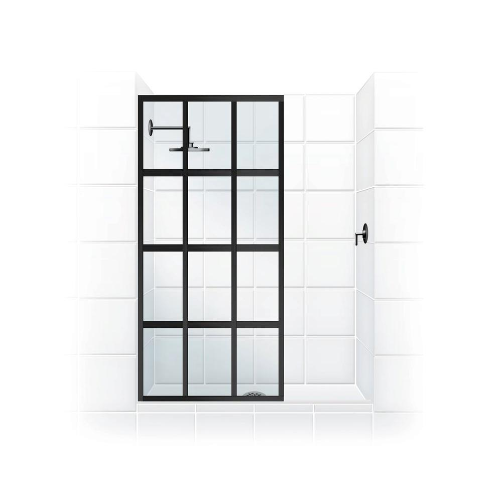 Coastal Shower Doors Gridscape Series V1 30 in. x 76 in. ...