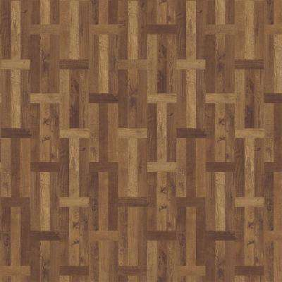 Elliston Bay 11.89 in. x 27.87 in. Parquet Luxury Vinyl Plank Flooring (23 sq. ft. / case)