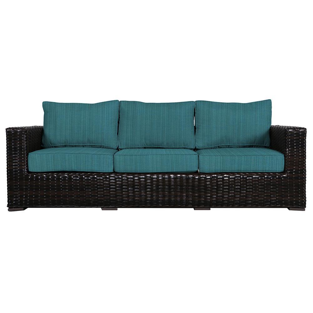Patio Wicker Outdoor Sofa